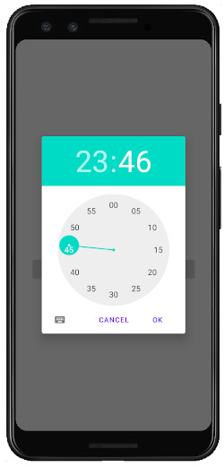 as413k m33 - [Android & Kotlin] TimePicker の実装