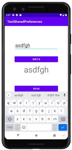 as413k m34 - [Android & Kotlin] データを保存し Android Studio で確認 SharedPreferences